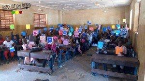 enfants Donia école